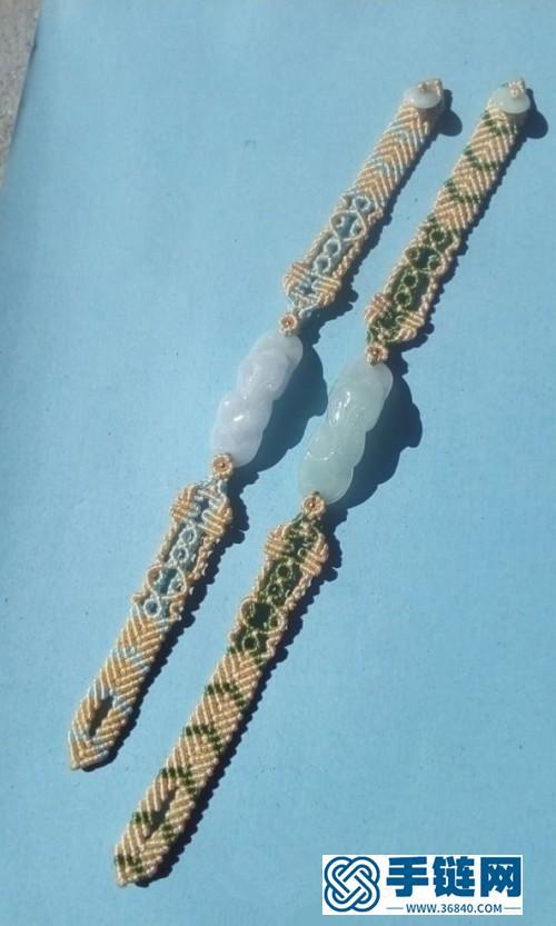 中国结貔貅手绳的详细制作方法