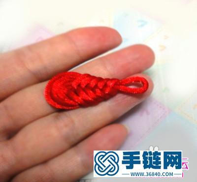 中国结编结制作的琵琶盘扣教程