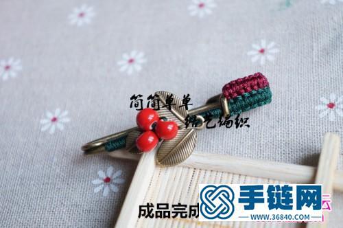 森女范儿胸针的制作方法