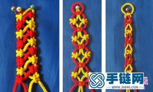 种镂空绳编教程