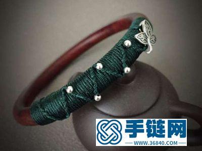 玉线编绳应用技巧_简单DIY拧花纹手镯