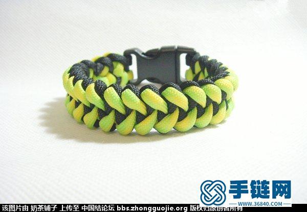 鱼骨纹伞绳手链