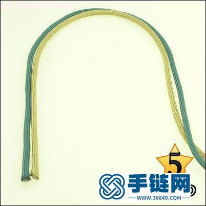 偷了一个伞绳手链教程,希望大家喜欢!