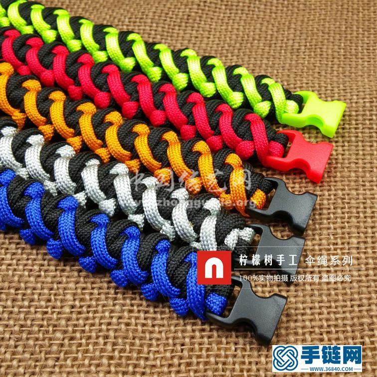 【76人队】男士伞绳手链