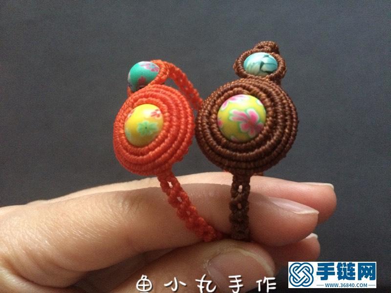 蜡线包珠手绳·情侣闺蜜款