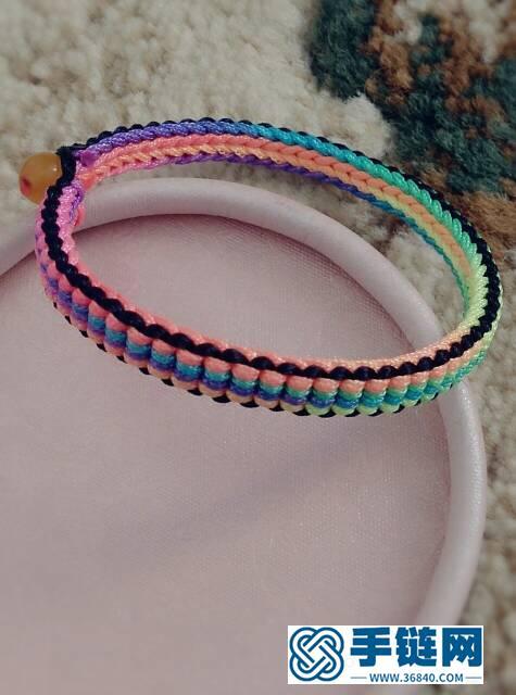 端午彩色手绳