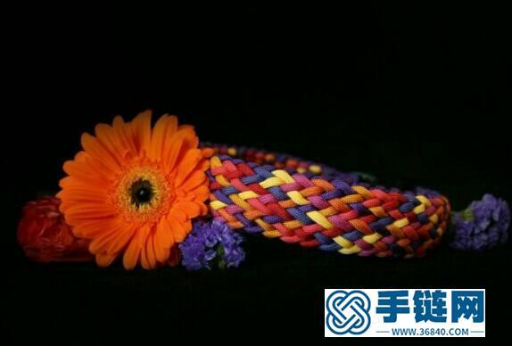 手链:伞绳编织编法图解步骤