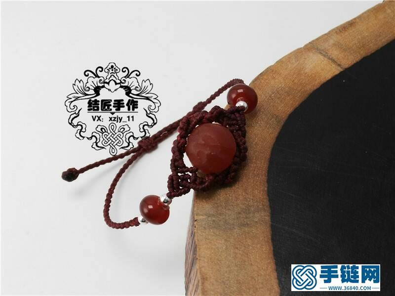 简约玛瑙珠子项链