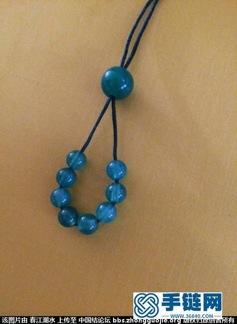 圣诞节礼物很简单的绿玛瑙项链