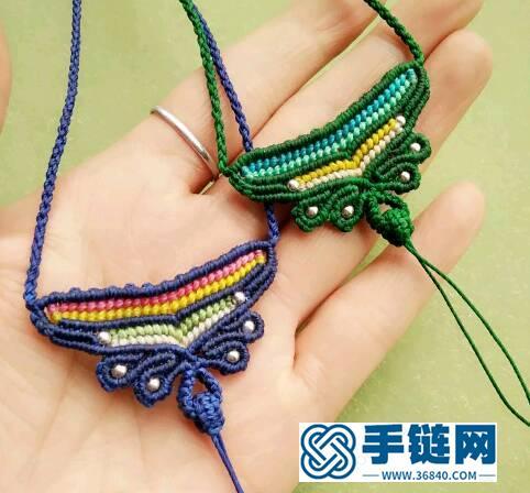 蝶韵 m银珠挂绳