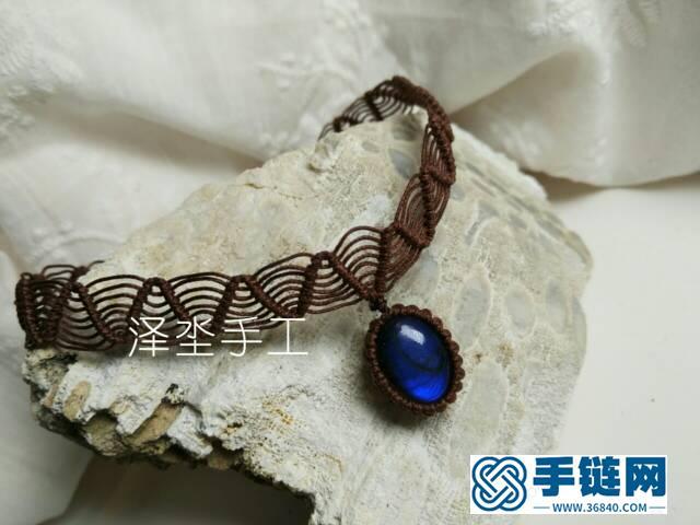 经典蕾丝感颈链编织教程