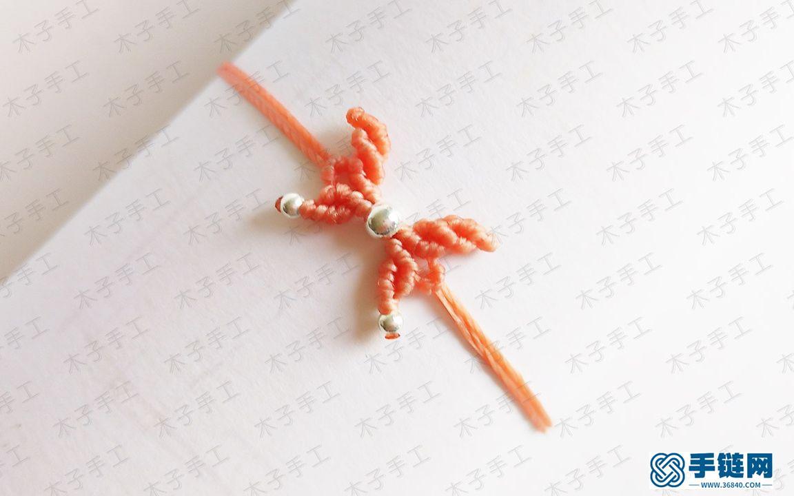 教你做一款小蝴蝶手链,超简单,人人都能学会