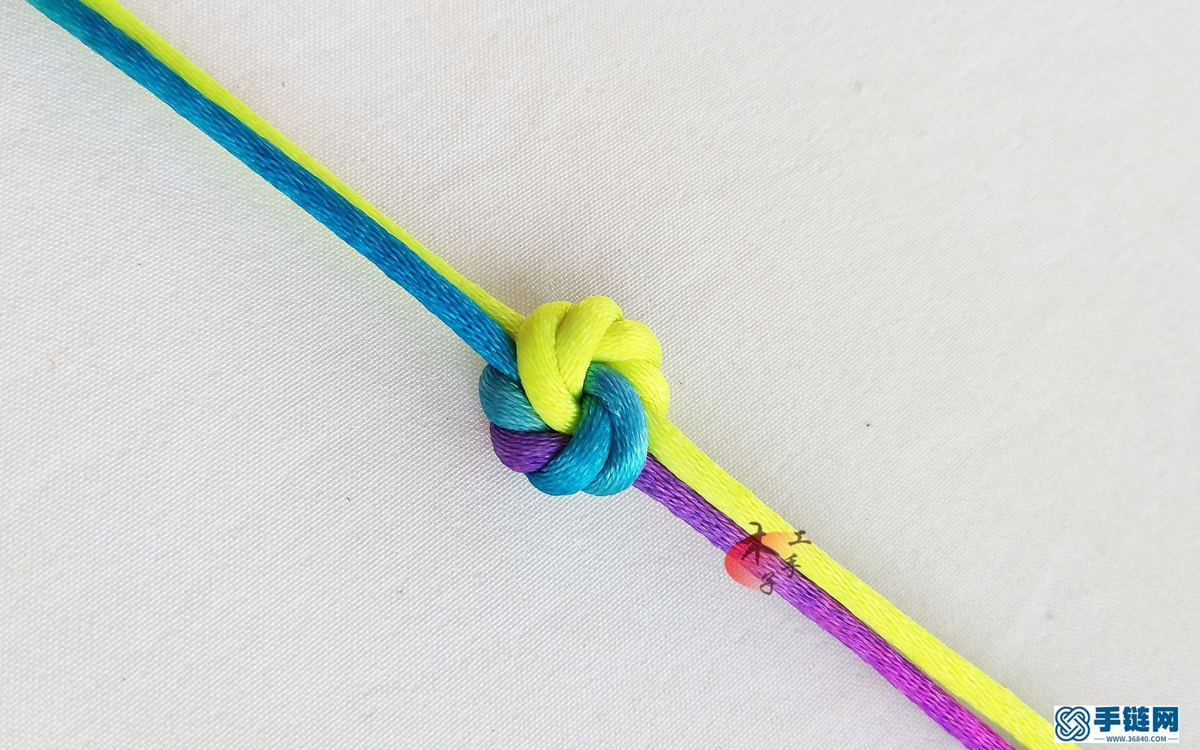 曼陀罗结的红绳编织方法,喜爱编绳的你一定要看!