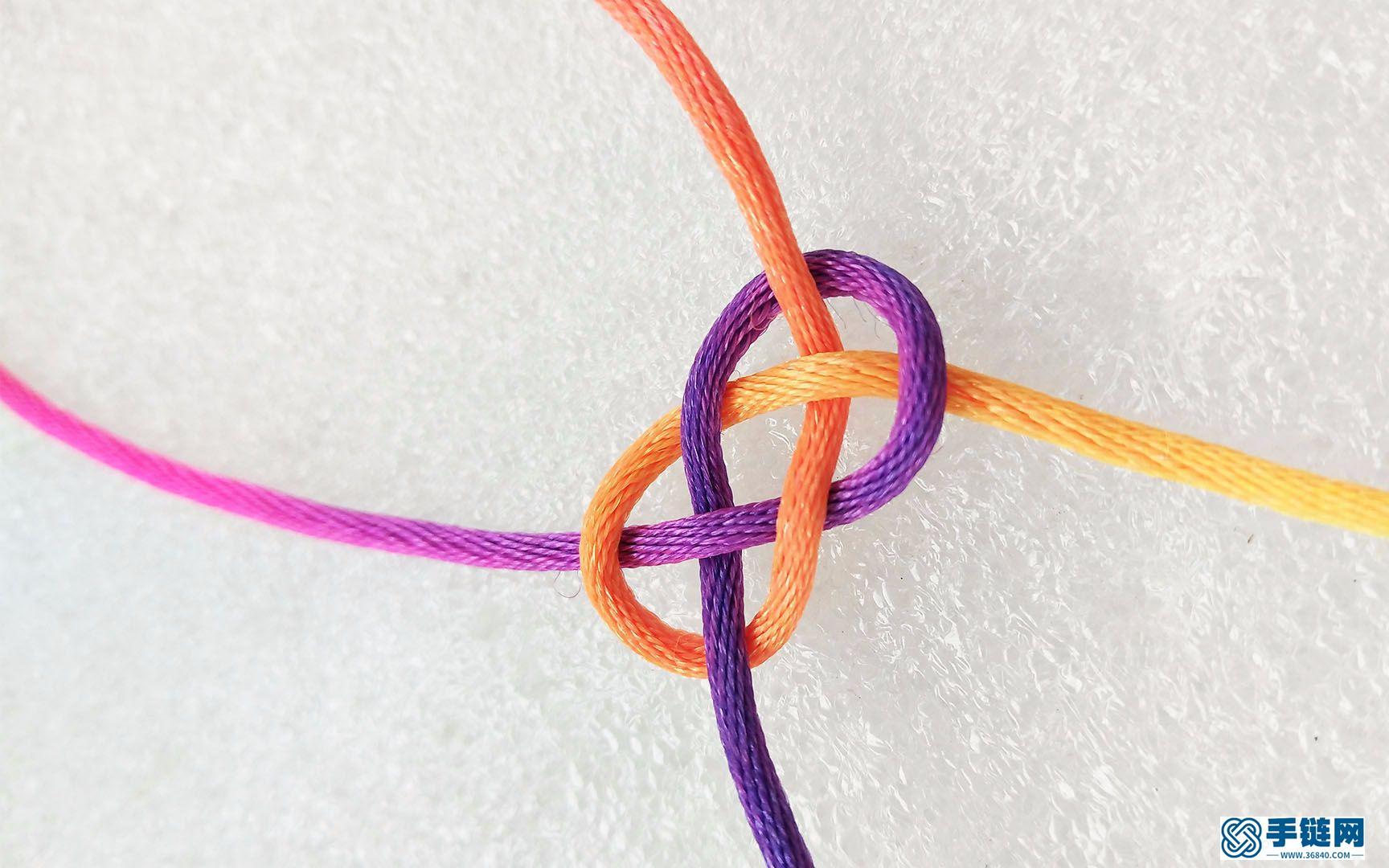 30秒,让你轻松学会双钱结的红绳编织技巧