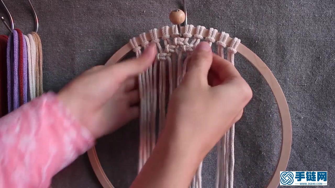 Macrame编织印第安现代风捕梦网墙面装饰