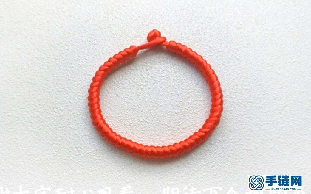 九乘金刚结手绳教程韩国丝款