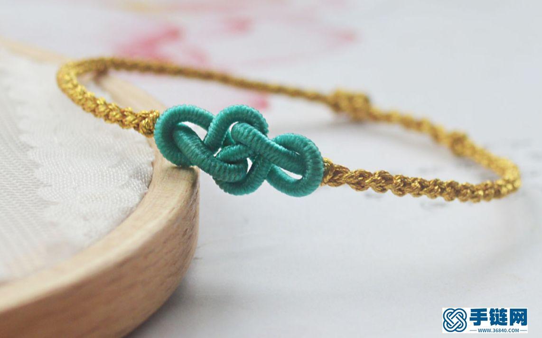 一根绳子编出漂亮的如意结,简单易学慢动作教会你