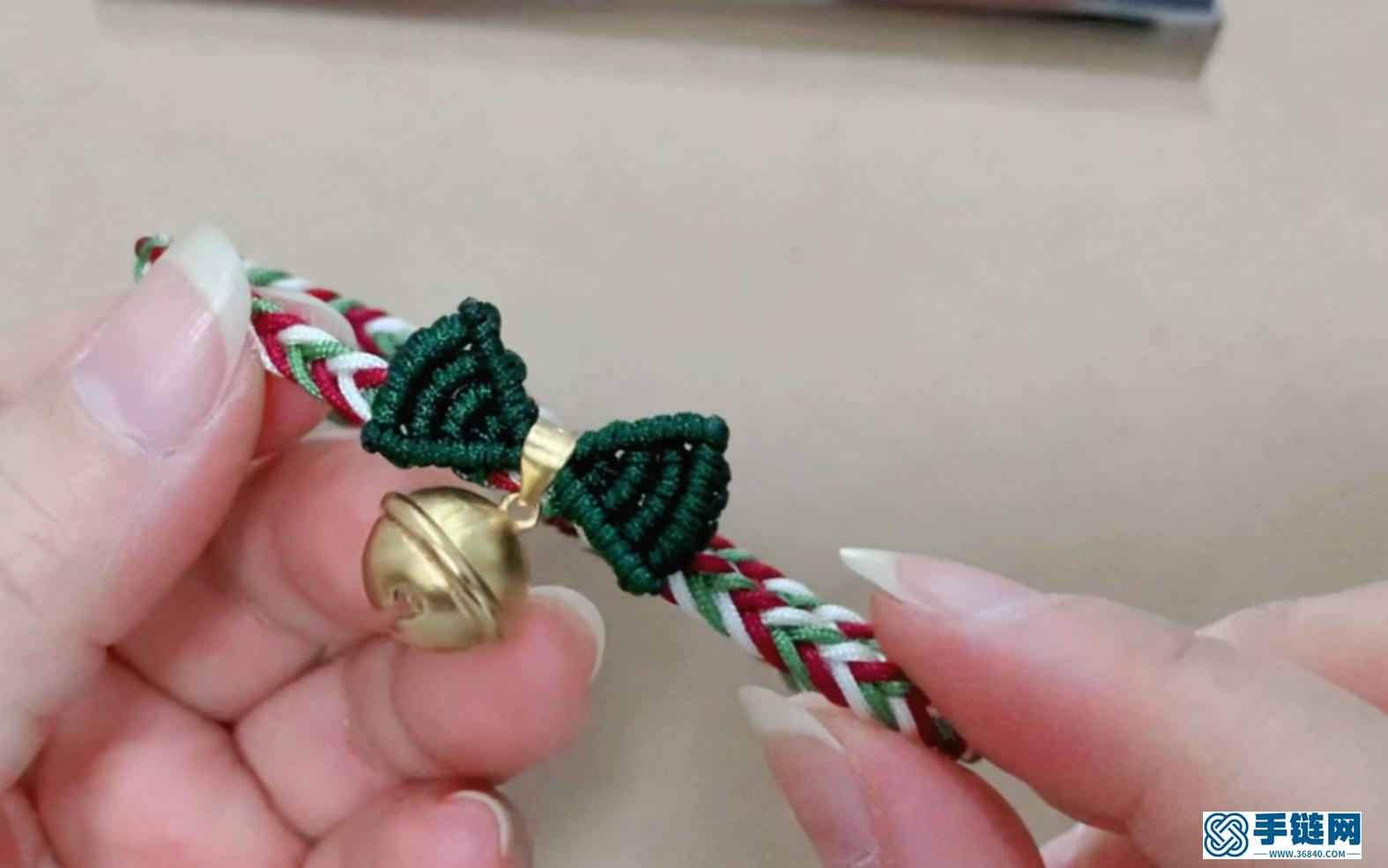 手工编绳 还是在逃公主的圣诞节版本