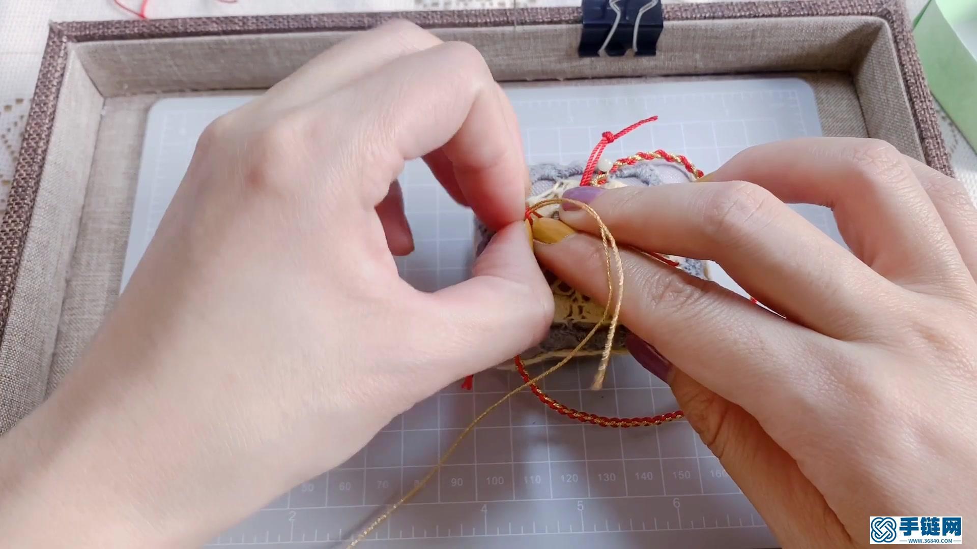 节节高升招财纳福红脚绳3