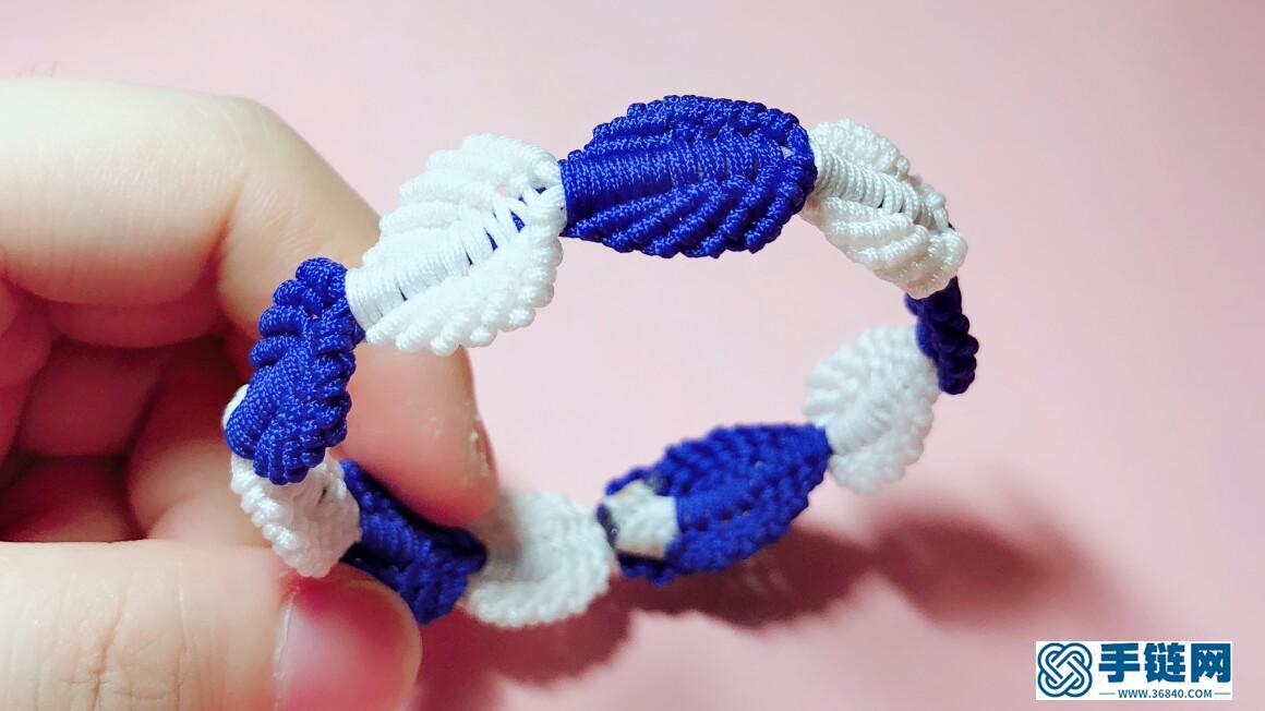 95 树叶手绳 超显白的配色 也可做纯色/两色渐变/撞色/白色搭配任意颜色