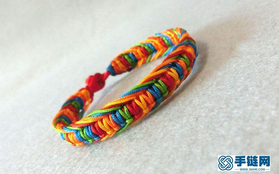 端午节五彩长命缕,端午节快到了,跟我学着编织一款五彩手绳吧,,