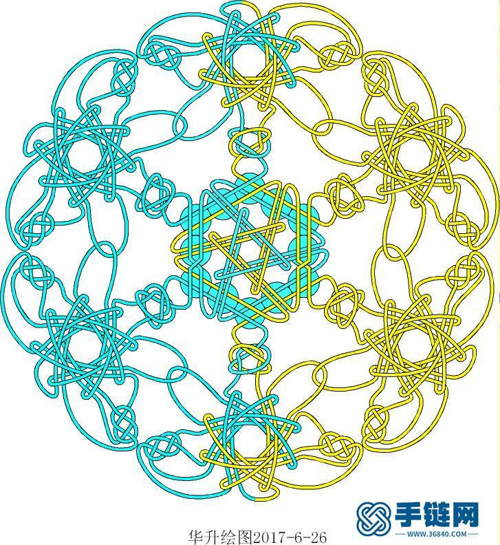 团锦6蝶+六边形冰花