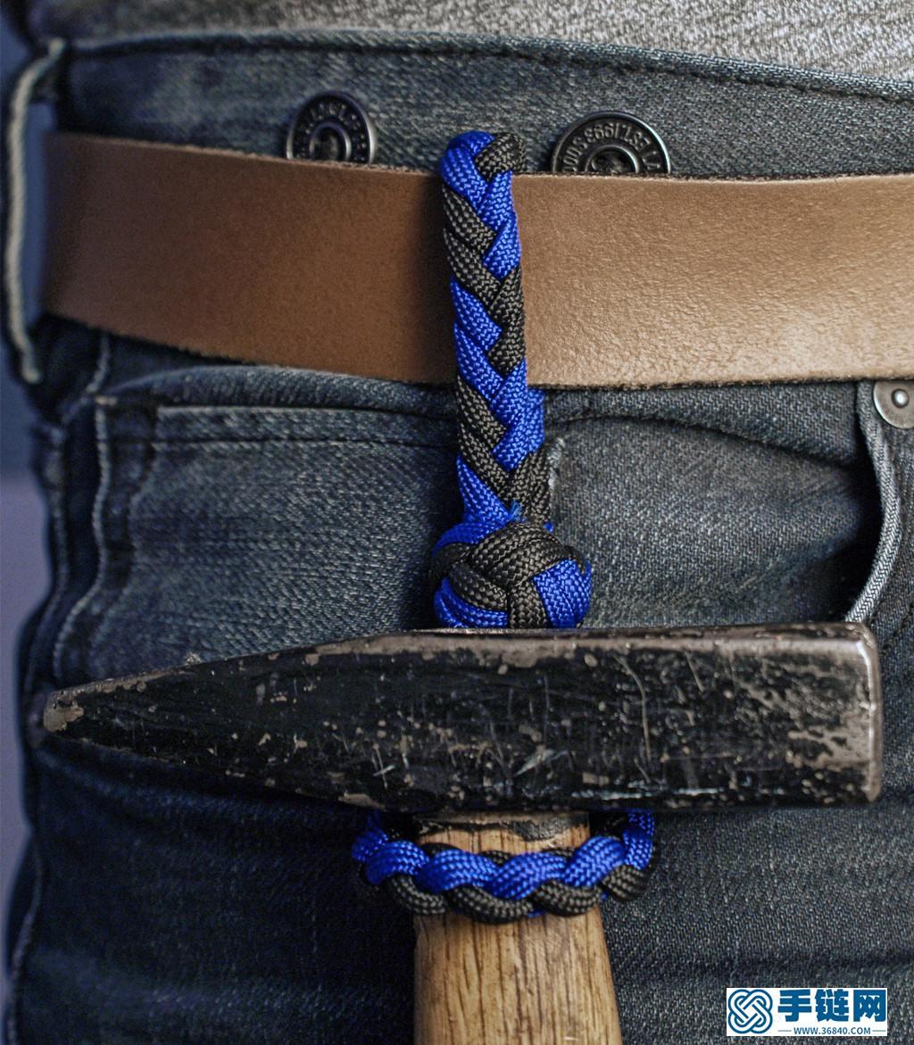 【实用型】伞绳挂件编绳教程-完整编法步骤