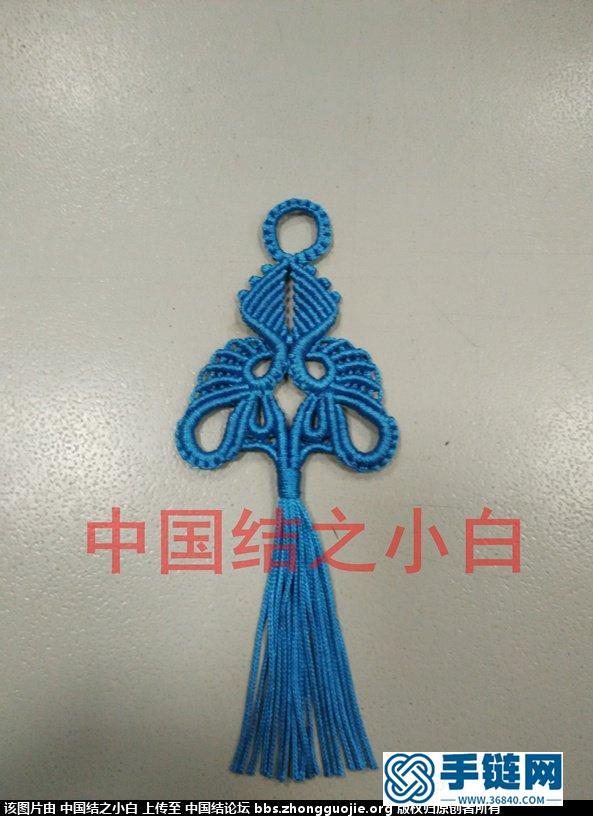 《饰品1》根据国外作品而做~~编绳教程-完整编法步骤