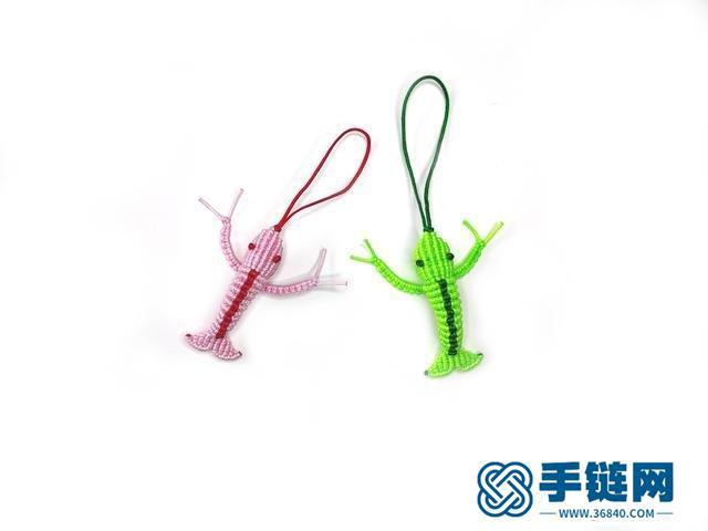 龙虾编织教程图解,教你如何编中国结小虾做法