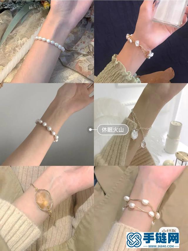 68款高颜值平价手链美翻了超好看手链是女生手腕上最美的风景线