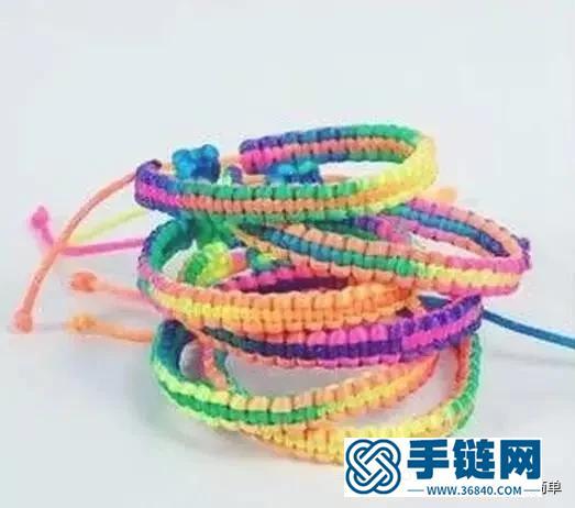 7款精选手绳编织教程,既好看有好编,款款都是编织经典