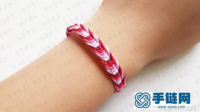 零基础小白必学的一款平结手链,简单又漂亮