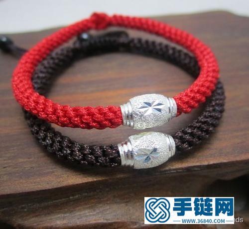 5种转运珠手绳编法——你也能编织《继承者们》李敏镐的手绳