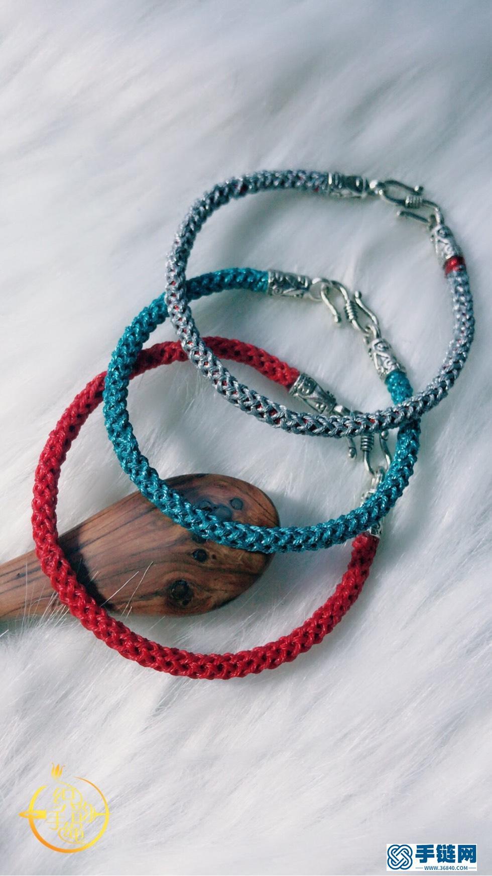 男士手绳编织新款教程,好看男款龙鳞祈福手绳教程