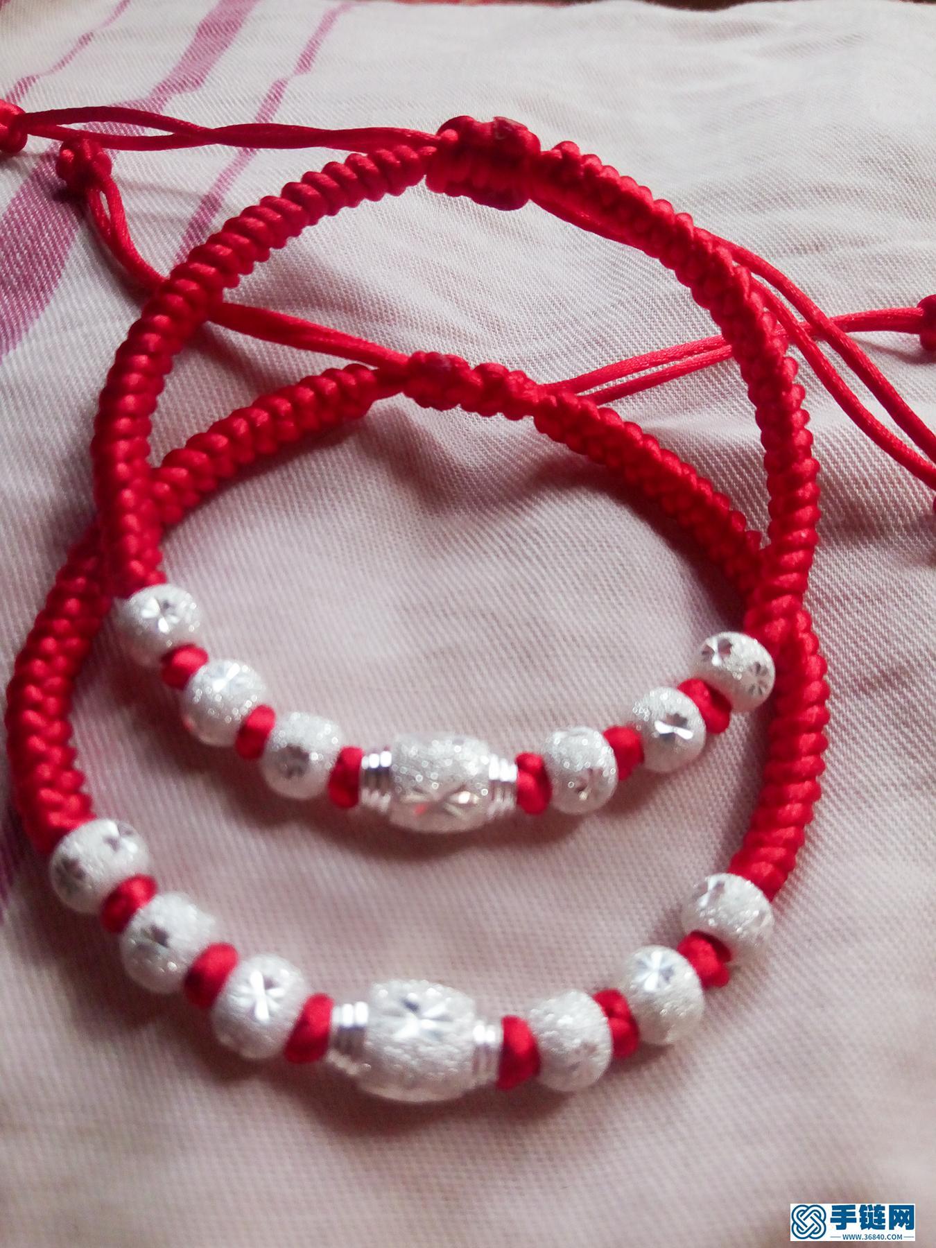 本命年红绳手链编织教程,金刚结手绳做法步骤